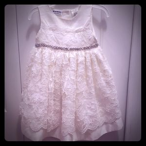 Lace confirmation or flower girl dress